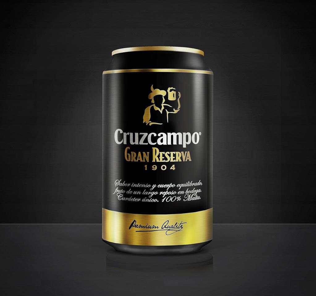 Cruzcampo Gran Reserva - Packaging, branding y comunicación